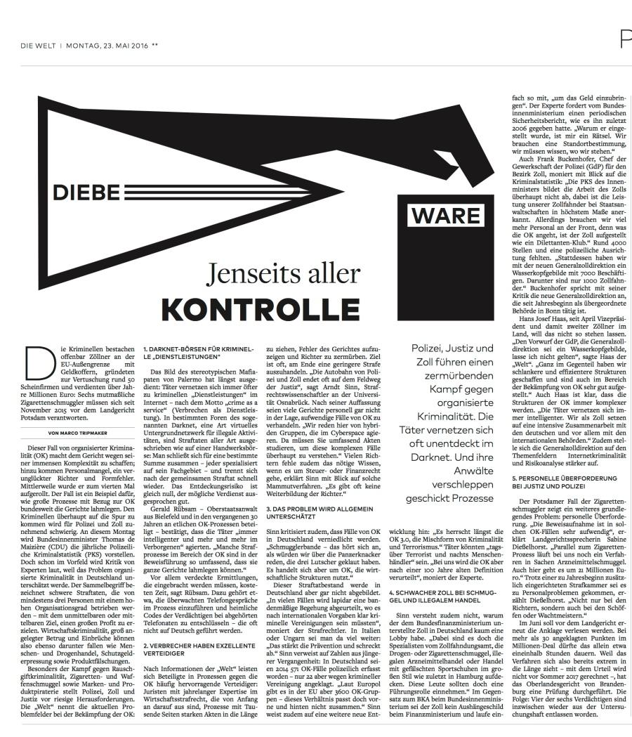DIE WELT - 23. Mai 2016 - Seite 5